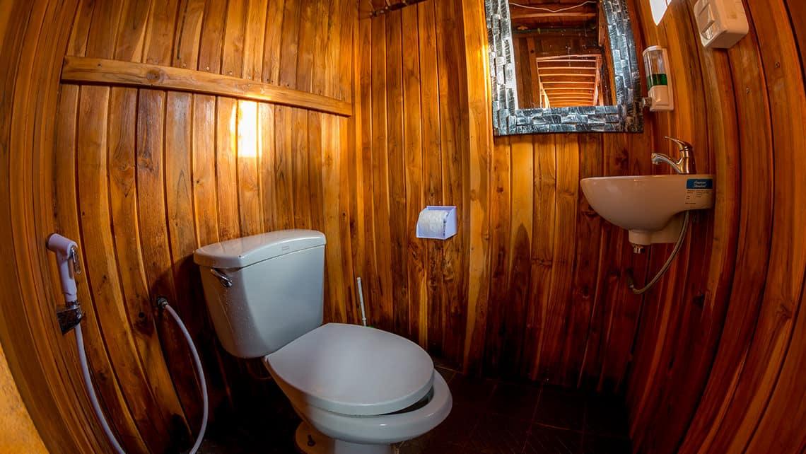 Alcira Phinisi Captain Komodo Toilet