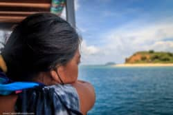 Girl Boat Cruise Liveaboard Islands White sand Beach