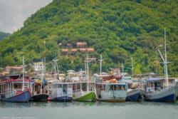 Harbour Boats Labuan Bajo Flores Indonesia