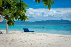 Kanawa Island Turquoise Water White Sand Beach
