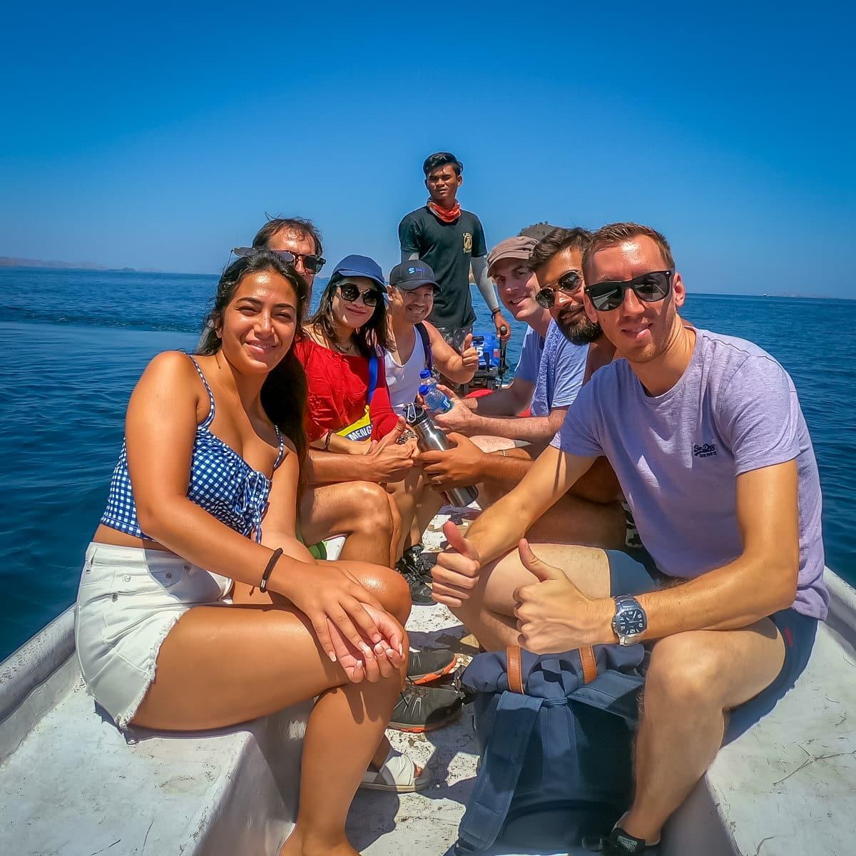 Komodo Trip Shared Clients on Alcira